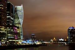 Россия город moscow Деловый центр Стоковое фото RF