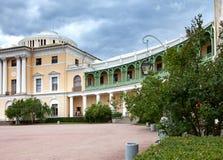 Россия Дворец в Павловске, StPetersburg, на лете стоковая фотография rf