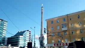 РОССИЯ, ЕКАТЕРИНБУРГ 24-ое марта 2018 подрывание старой башни телевидения, метод взрыва сток-видео
