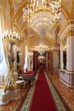 Грандиозный enfilade дворца Кремля Стоковые Фотографии RF