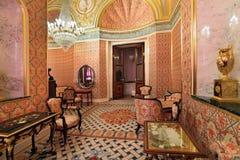 Грандиозный интерьер дворца Кремля Стоковые Фото