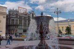 РОССИЯ, МОСКВА, 8-ОЕ ИЮНЯ 2017: Театр Bolshoi стоковое изображение