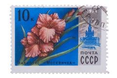 РОССИЯ - ОКОЛО 1978: штемпель напечатанный в СССР CCCP, Советском Союзе Стоковое Фото