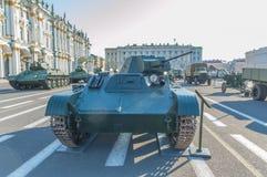 Россия, Санкт-Петербург, 10-ое августа 2017 - t-60 на Hermitag Стоковое Изображение RF