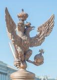 Россия, Санкт-Петербург, 12-ое июня 2017 - орел Em Romanov стоковое изображение rf