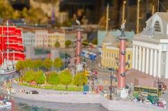 Россия, Санкт-Петербург, 18-ое января 2018 - выставка g Стоковые Изображения RF