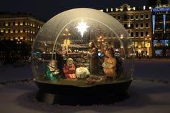 Россия, Санкт-Петербург, рождество рождества Стоковое фото RF