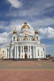 Россия. Саранск. Собор ` s St. Theodor Ushakov стоковое изображение rf