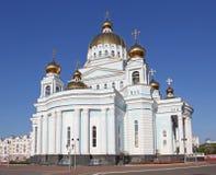 Россия. Саранск. Собор ` s St. Theodor Ushakov стоковое фото