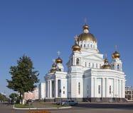 Россия Саранск Собор ` s St Theodor Ushakov стоковое фото rf