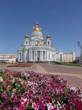 Россия Саранск Собор ` s St Theodor Ushakov стоковое изображение rf