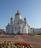 Россия Саранск Собор ` s St Theodor Ushakov стоковые фото