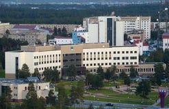 Россия, Kogalym, западный Сибирь Стоковая Фотография RF