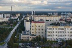 Россия, Kogalym, западный Сибирь Стоковая Фотография