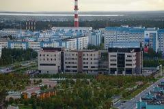 Россия, Kogalym, западный Сибирь Стоковые Фотографии RF