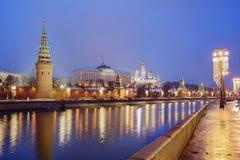Россия kremlin moscow грандиозный дворец kremlin Стоковые Фото