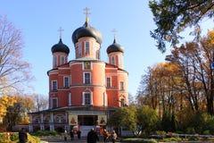 Россия moscow Монастырь Donskoy стоковые изображения