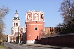 Россия moscow Монастырь Donskoy стоковое фото