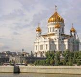 Россия moscow спаситель christ собора стоковые фотографии rf