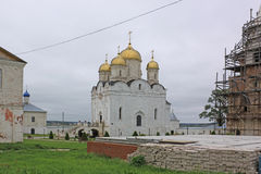 Россия Mozhaisky Luzhetsky рождества виргинского монастыря Ferapontov стоковая фотография