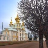 Россия, Petrodvorets Городской пейзаж Стоковые Изображения RF