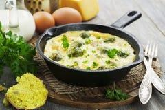 ростки casserole brussels Стоковая Фотография RF
