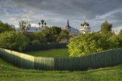 Ростов большой, Россия Городок золотого кольца Стоковая Фотография