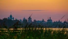 Ростов Кремль, золотое кольцо России Стоковые Фото