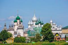 Ростов Кремль, золотое кольцо России Стоковая Фотография