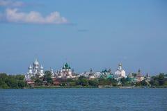 Ростов Кремль, золотое кольцо России Стоковое Изображение RF