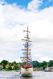 Росток, Германия - август 2016: парусное судно Artemis Стоковые Фото