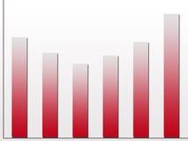рост диаграммы иллюстрация штока