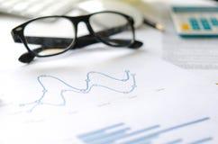 рост диаграмм диаграмм дела увеличил тарифы профитов Стоковое Изображение
