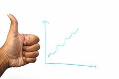 рост компании Стоковое Изображение RF