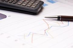 рост финансов Стоковая Фотография RF
