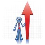 рост экономии Стоковое Изображение RF