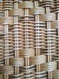Ротанг сделанный от древесины, касаясь поверхности ротанга сухожилия, Стоковая Фотография RF