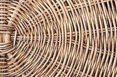 ротанг basketry старый стоковое изображение
