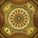 Ротонда здания капитолия Пенсильвании Стоковое Фото