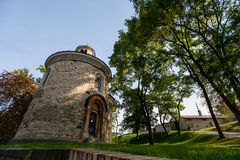 Ротонда sv Martina в Праге Стоковое Фото