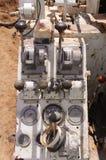 Роторные управления снаряжения сверла Стоковая Фотография