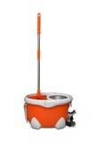 Роторные mop и ведро стоковое изображение rf