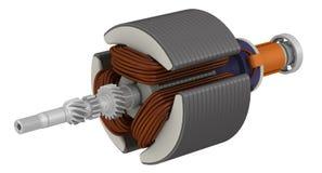 ротор электрического двигателя Стоковые Фотографии RF