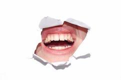 рот над белизной стоковые изображения rf