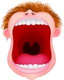 рот открытый Стоковые Фотографии RF