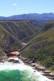 Рот реки Bloukrans Стоковая Фотография