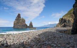 Рот реки Janela, Мадейра Стоковое Изображение RF