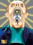 рот сюрреалистический Стоковая Фотография
