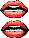 рот шаржа Стоковые Фото