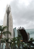 роща сада собора кристаллическая Стоковое фото RF